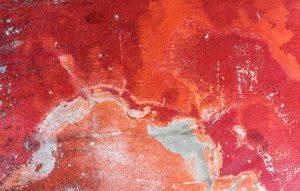 خون دوران قاعدگی با رگه های طوسی رنگ